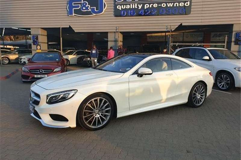 Mercedes Benz S Class S500 coupe 2015