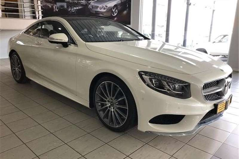 Mercedes Benz S Class S500 coupe 2018