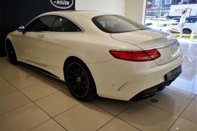 Mercedes Benz S Class S63 Amg Coupe