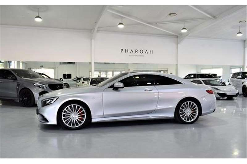 Mercedes Benz S Class S65 AMG coupe 2015