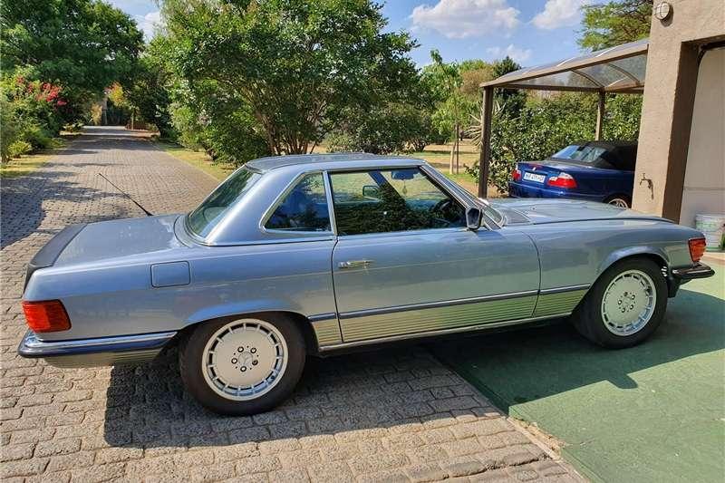 Mercedes Benz SL 500 1983