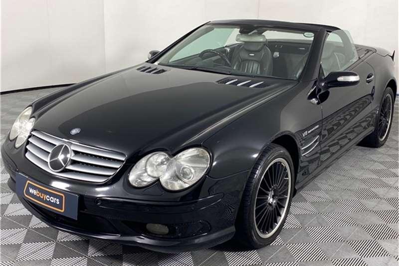 Used 2005 Mercedes Benz SL 55 AMG