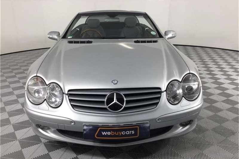 Mercedes Benz SL Class Cabriolet 2003