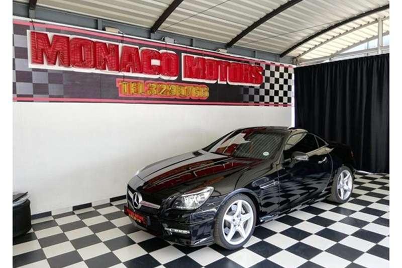 Mercedes Benz SLK 200 AMG Sports auto 2015