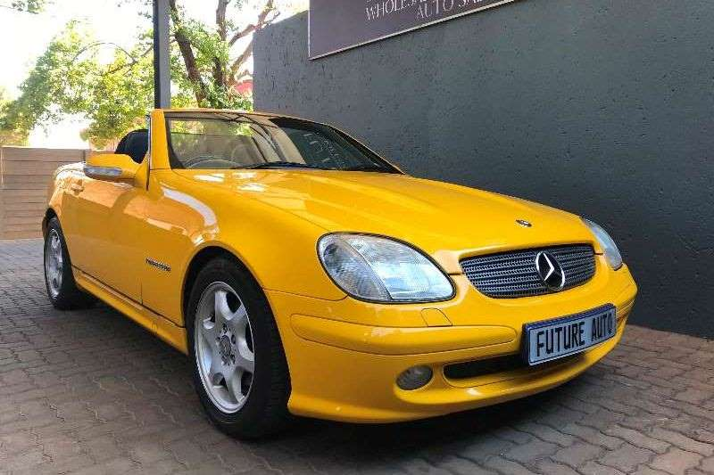 Mercedes Benz SLK 200 auto 2001