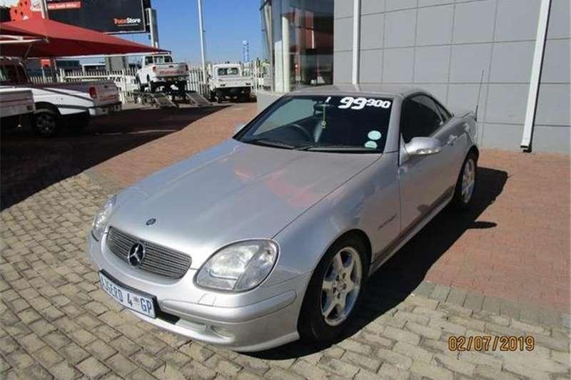 Mercedes Benz SLK 200 Kompressor Auto 2001