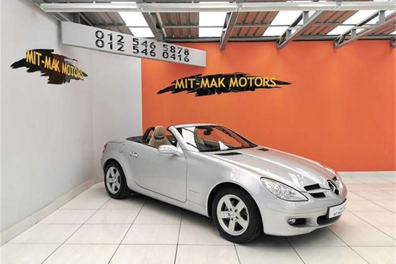 Mercedes Benz SLK 200 Kompressor Roadster 2007