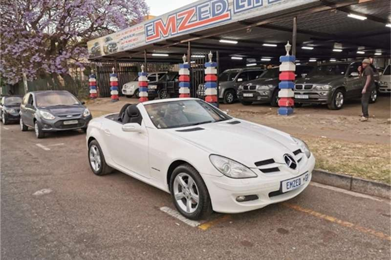 Mercedes Benz SLK 200 Kompressor Touchshift 2005