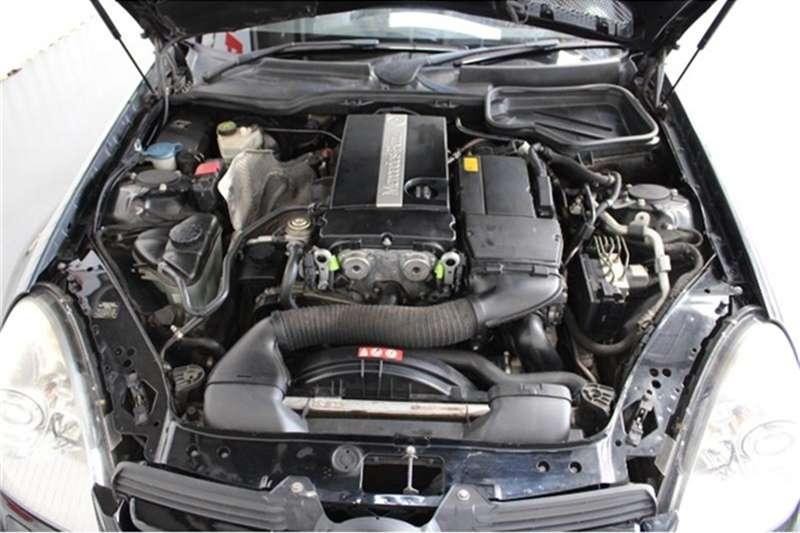 Mercedes Benz SLK 200 Kompressor Touchshift 2005