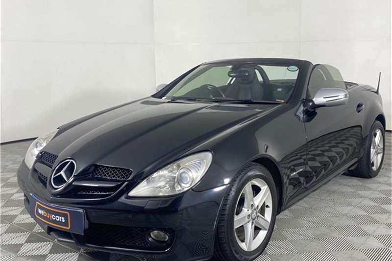 Used 2010 Mercedes Benz SLK 200 Kompressor Touchshift