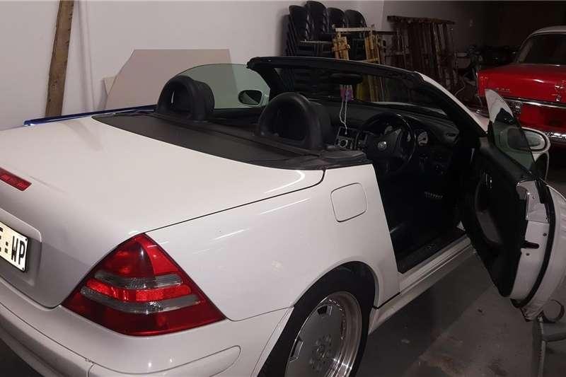 Used 2002 Mercedes Benz SLK