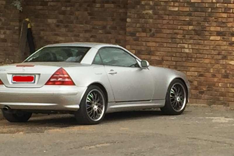 Mercedes Benz SLK 350 2001