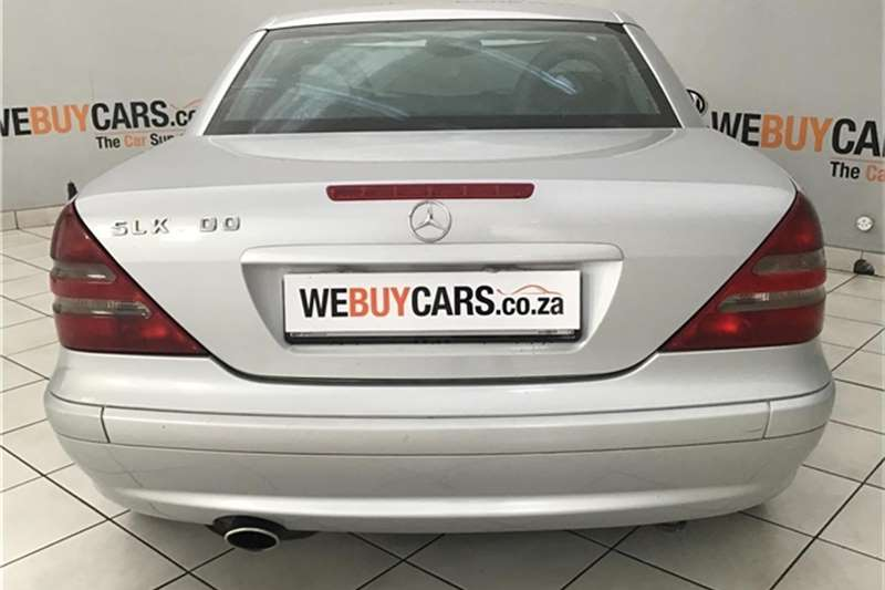 Mercedes Benz SLK Class 2000