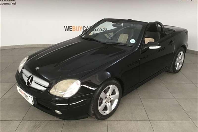 Mercedes Benz SLK CLASS 2002