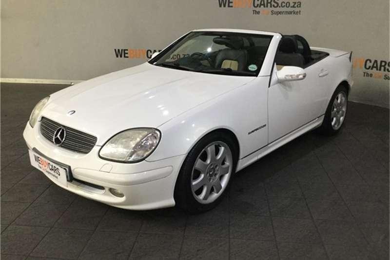 2000 Mercedes Benz SLK