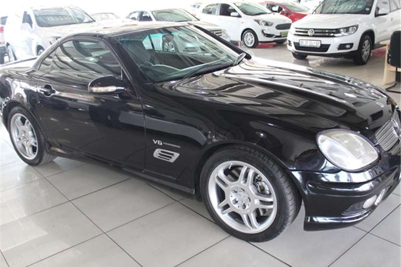 2004 Mercedes Benz SLK