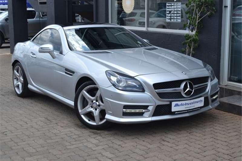 2014 Mercedes Benz SLK 200 auto