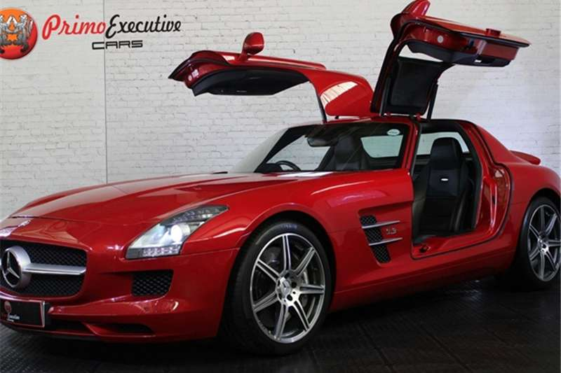 Mercedes Benz SLS AMG coupé 2011
