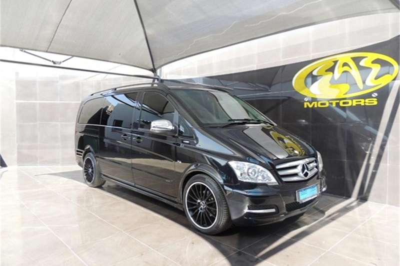 2012 Mercedes Benz Viano CDI 3.0 Avantgarde Edition 125
