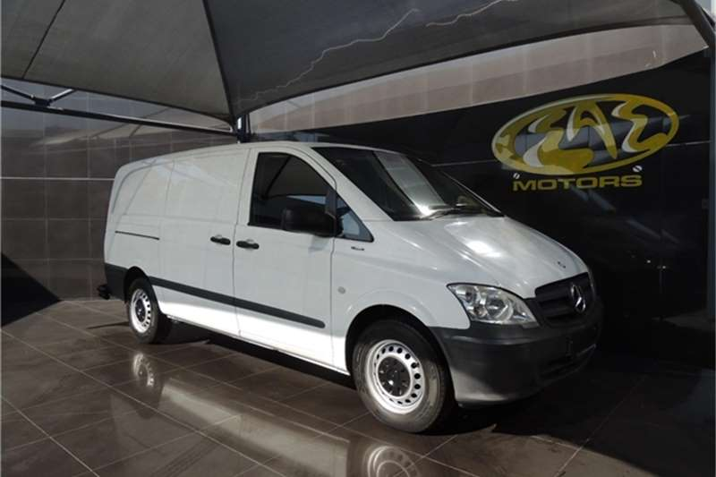 Mercedes Benz Vito 113 CDI panel van 2013