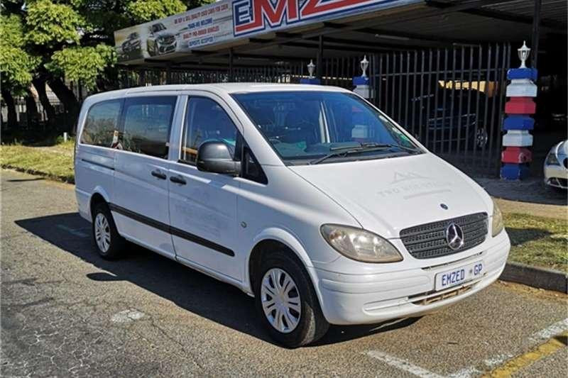 Mercedes Benz Vito 115 CDI 2.2 crew bus 2009