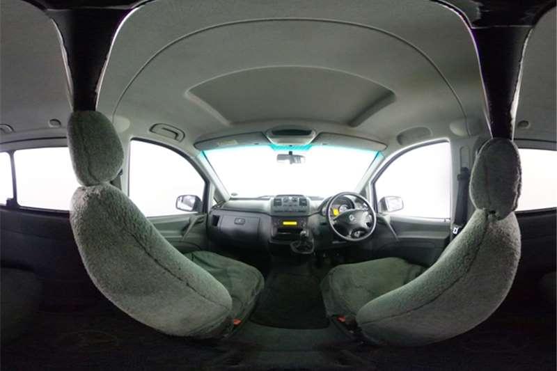 2010 Mercedes Benz Vito Vito 115 CDI 2.2 crew cab