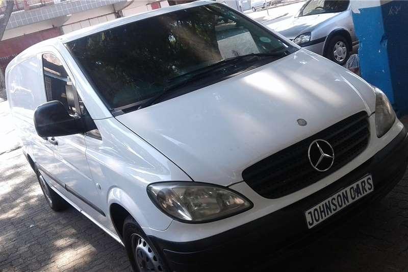 Mercedes Benz Vito 115 CDI 2.2 panel van high roof 2009