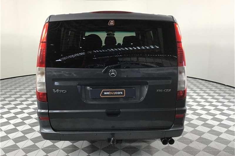 Mercedes Benz Vito 116 CDI crewbus 2012