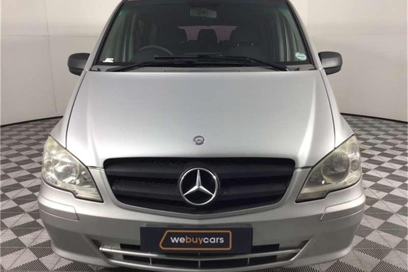 2011 Mercedes Benz Vito Vito 116 CDI crewbus Shuttle