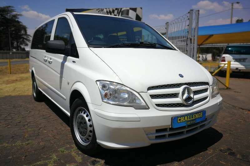 Mercedes Benz Vito 116 CDI crewbus Shuttle 2013