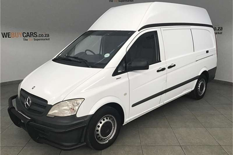 Mercedes Benz Vito 116 CDI panel van 2013