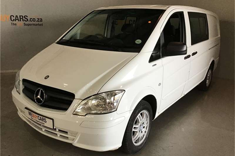 Mercedes Benz Vito 116 CDI panel van 2014