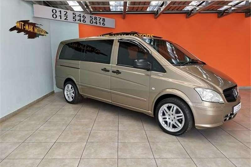 Mercedes Benz Vito 122 CDI Crewbus Shuttle 2011