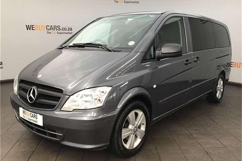 Mercedes Benz Vito 122 CDI crewbus Shuttle 2012
