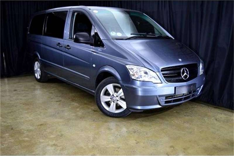 Mercedes Benz Vito 122 CDI crewbus Shuttle 2014