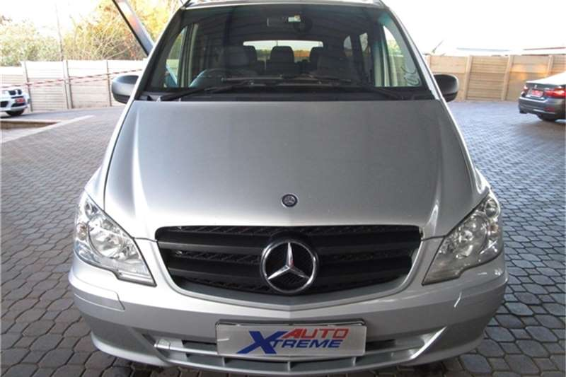 Mercedes Benz Vito 122 CDI crewbus Shuttle 2014