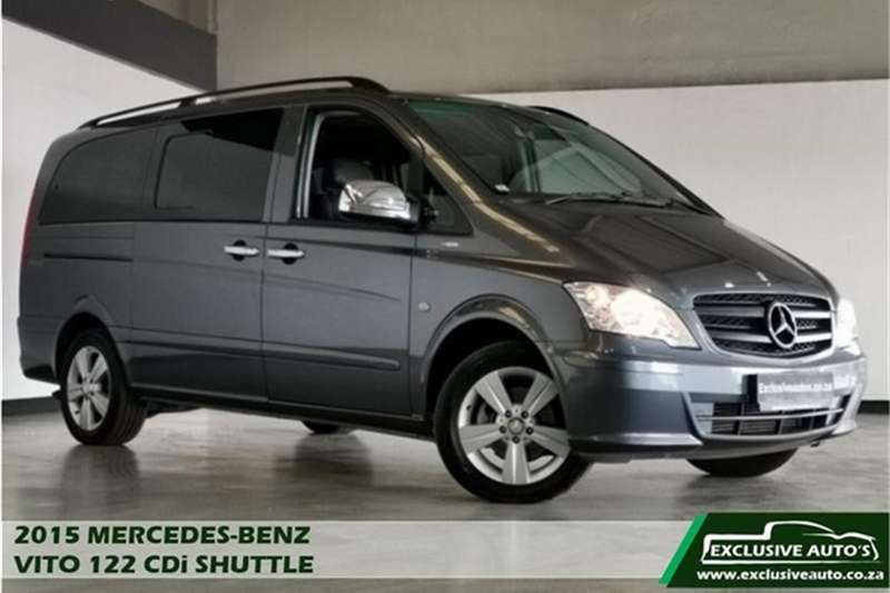 Mercedes Benz Vito 122 CDI crewbus Shuttle 2015