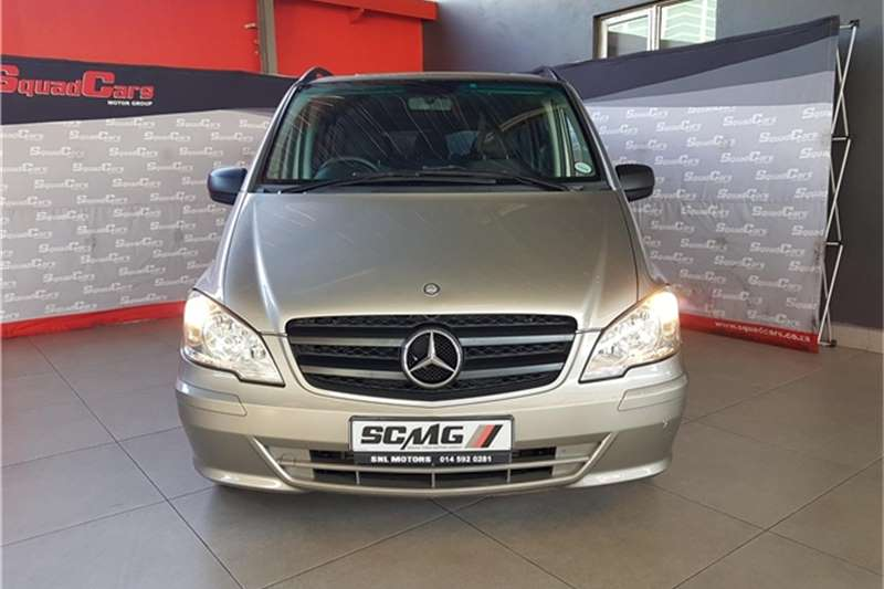 2012 Mercedes Benz Vito Vito 122 CDI crewbus Shuttle XL