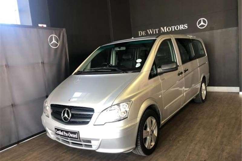 Mercedes Benz Vito 122 CDI Crewbus Shuttle XL 2013
