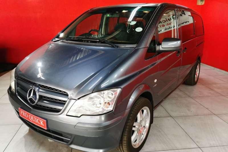 Mercedes Benz Vito 2012 Mercedes Benz Vito 116 CDI Crewbus XL 2012