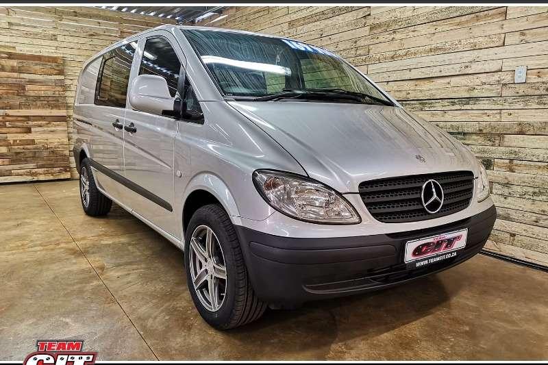 2007 Mercedes Benz Vito 115 CDI 2.2 crew cab automatic