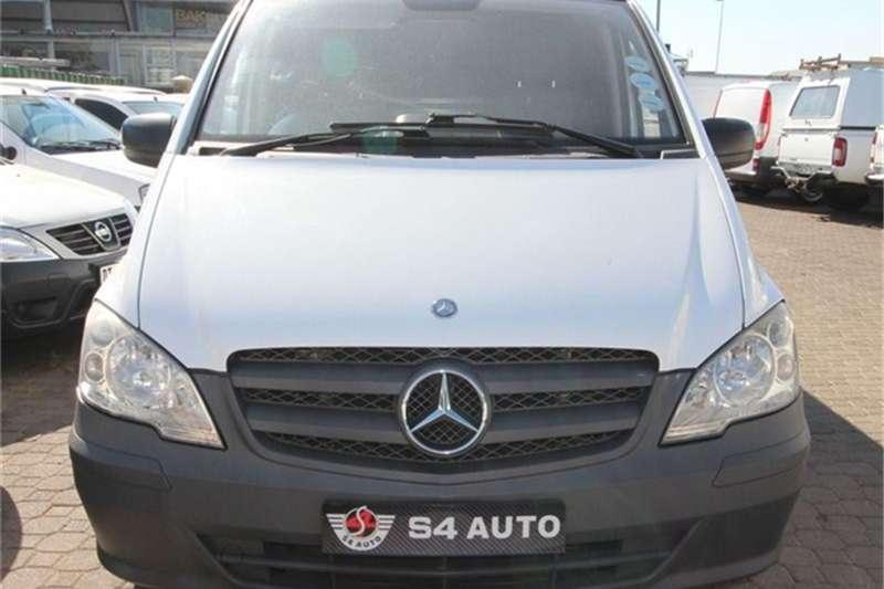 2011 Mercedes Benz Vito 113 CDI panel van