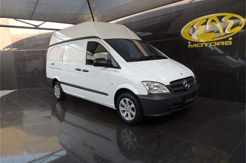 2012 Mercedes Benz Vito 113 CDI panel van