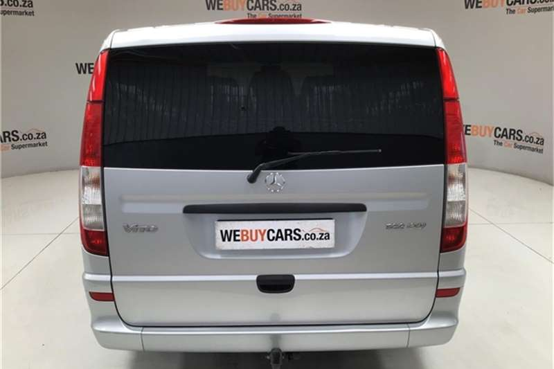 2014 Mercedes Benz Vito 122 CDI crewbus Shuttle