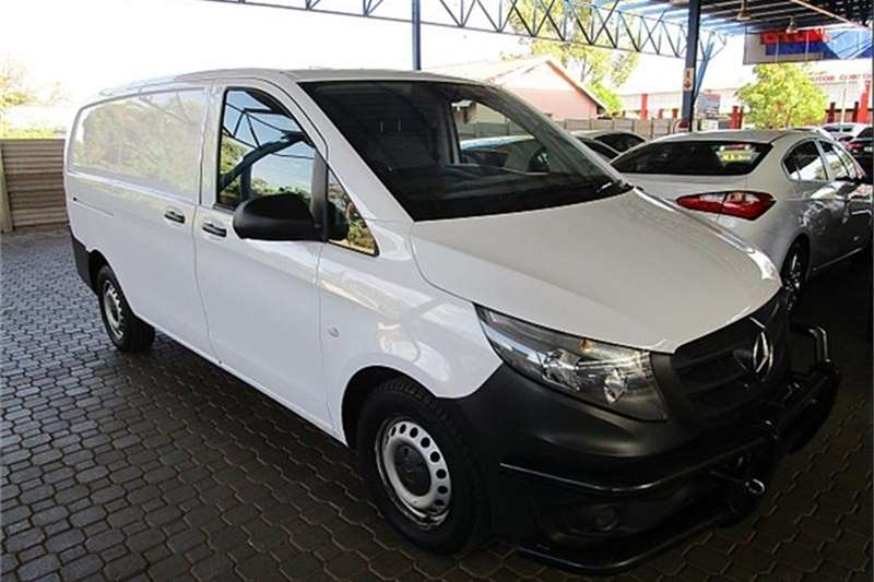 2016 Mercedes Benz Vito 111 CDI panel van