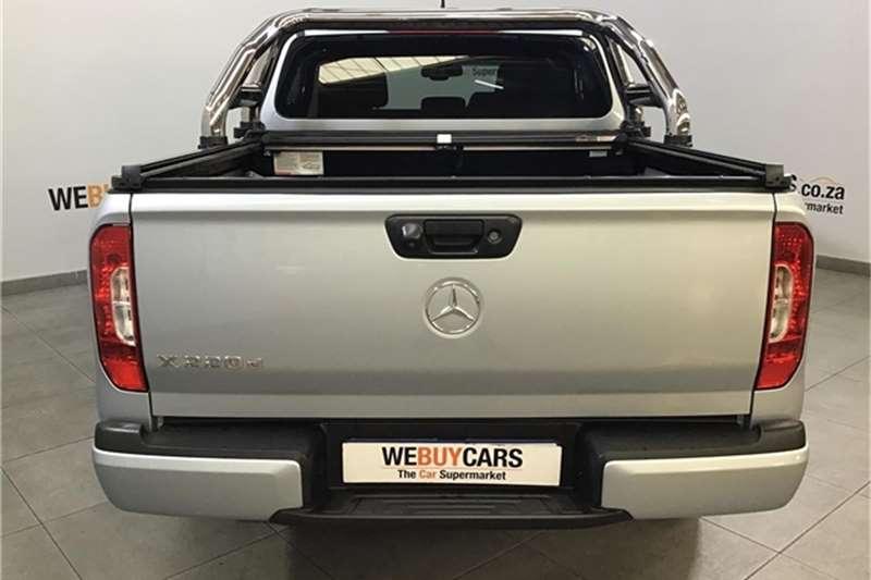Mercedes Benz X-Class Double Cab X220d PROGRESSIVE 2018