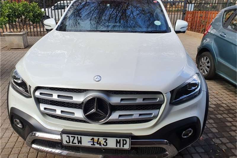 Mercedes Benz X-Class double cab X350d 4MATIC POWER 2020