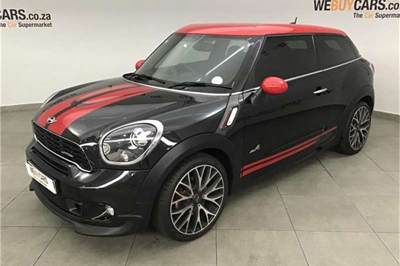 Mini Paceman John Cooper Works ALL4 2013