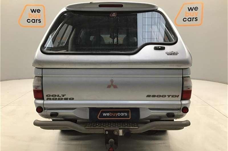 Mitsubishi Colt 2800TDi Rodeo double cab 2005