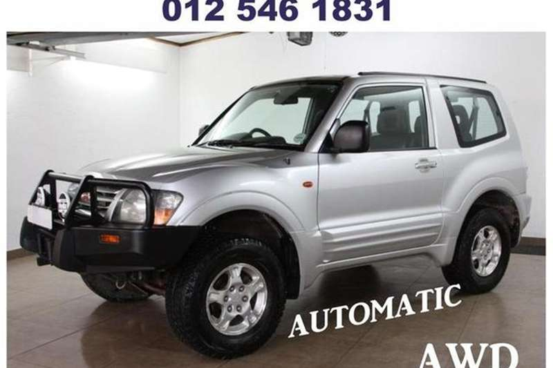 Mitsubishi Pajero 3500 Gls 3 Door At 2001